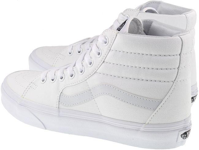 Vans Trainers Womens Sk8 Hi True White True White