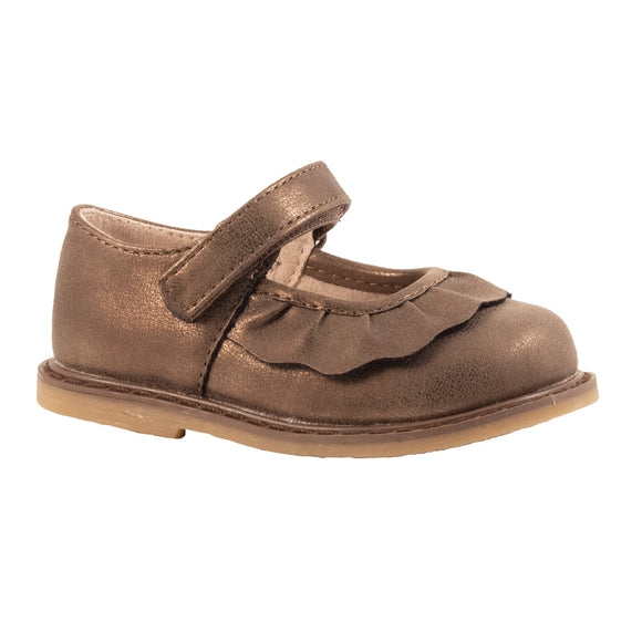 KAMDYN Toddler Brown Mary Jane Flats
