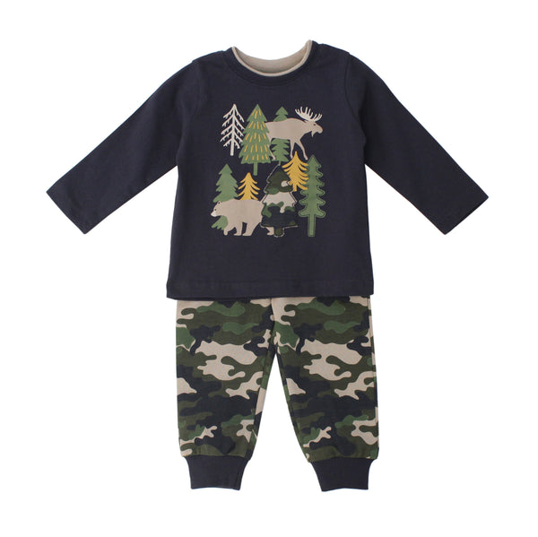Forest Applique Set W/Camo Pants