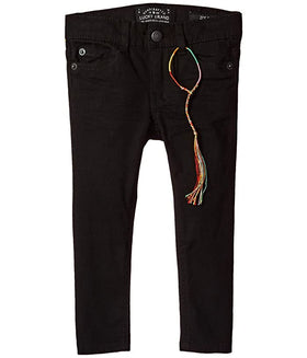 Zoe 5 pkt CLRD Brushed Jean Black