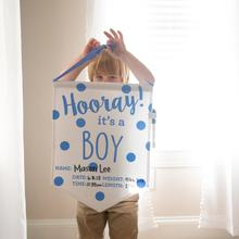 BABY BANNER/Announcement