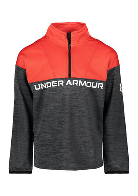 UA Twist 1/4 Zip Versa Red