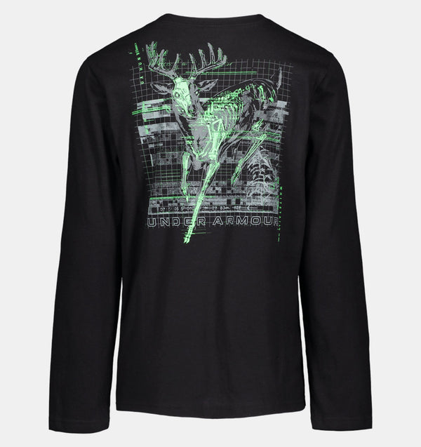 UA Whitetail Skullmatic Black Shirt