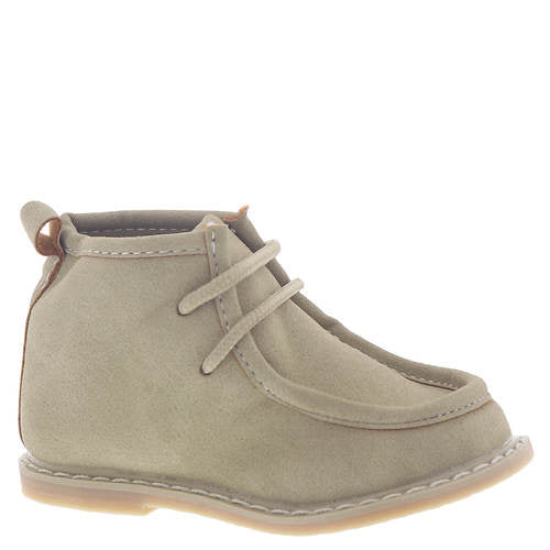 LT Tan Suede Lace up Wallabee Boot Baby Deer
