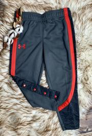 UA Snap Twist Pant Pitch Grey/Red