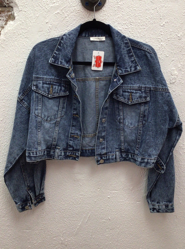 Short Denim Jean Jacket