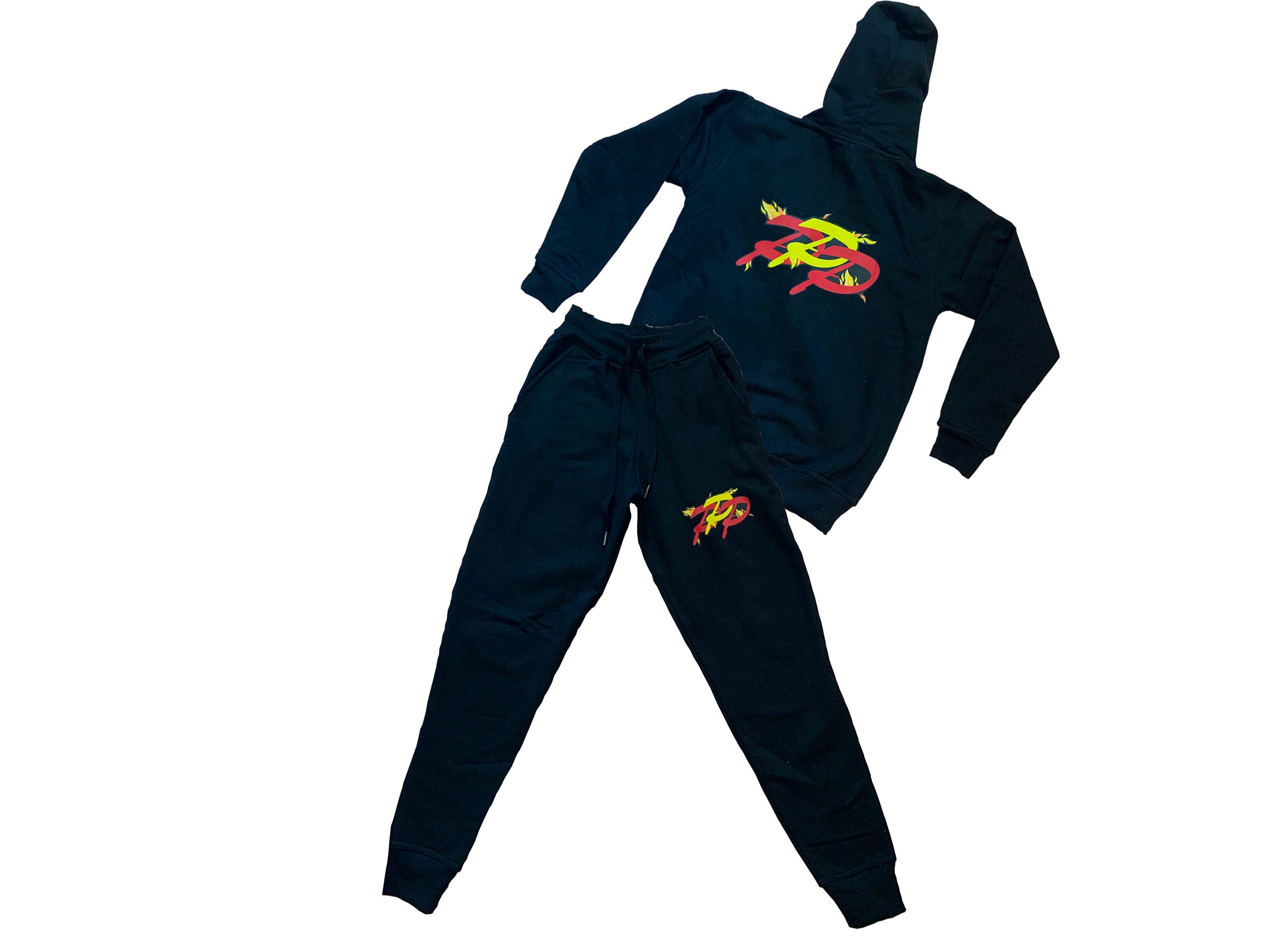 AMATERASU BURN IN FLAMES SWEATSUIT