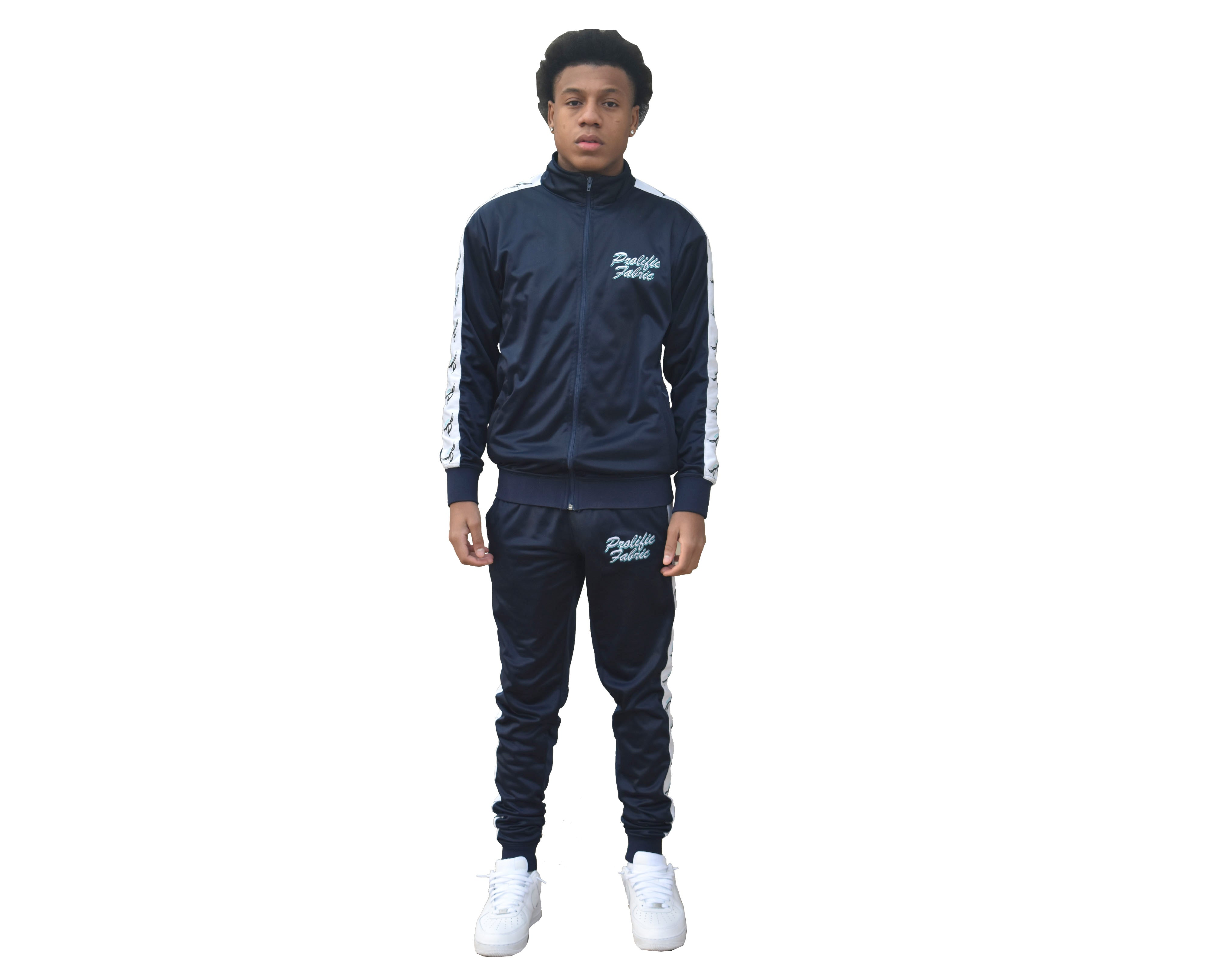 TRUE NAVY HALO TRACKSUIT