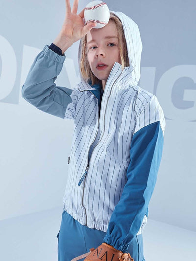 Runner Jacket- Slow Flowing White - moody tiger US