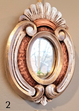 Load image into Gallery viewer, Handcarved Cedar Mirrors