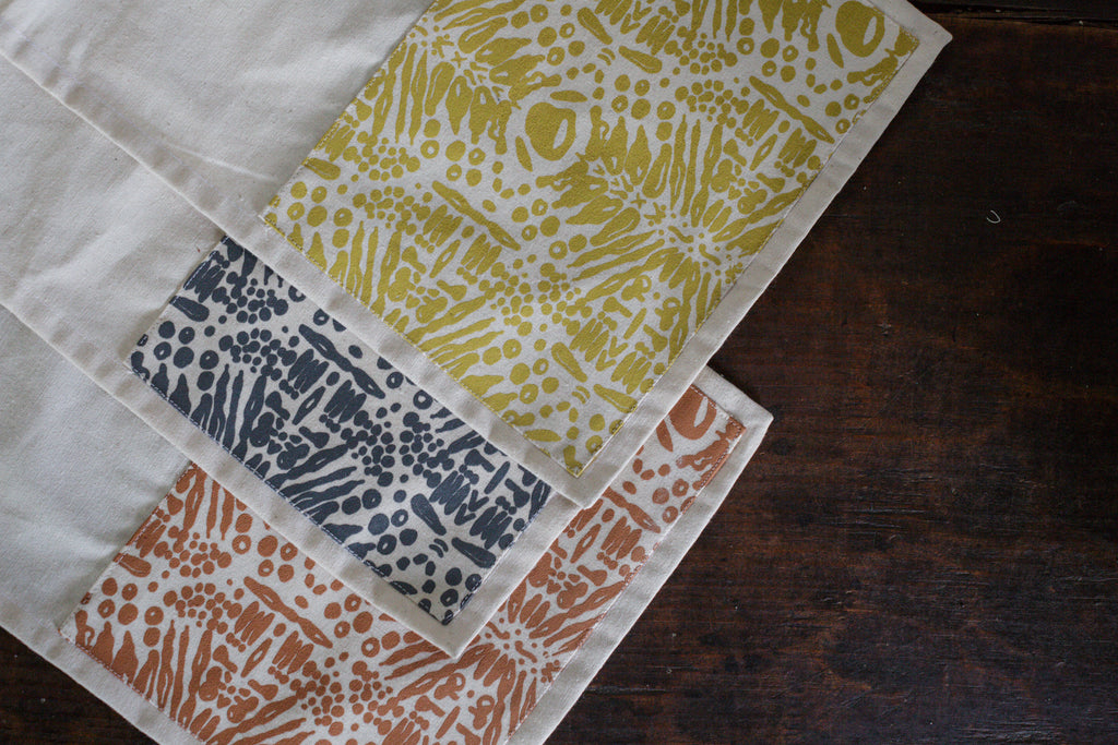 Screenprinted Dishtowels (Set of 2)