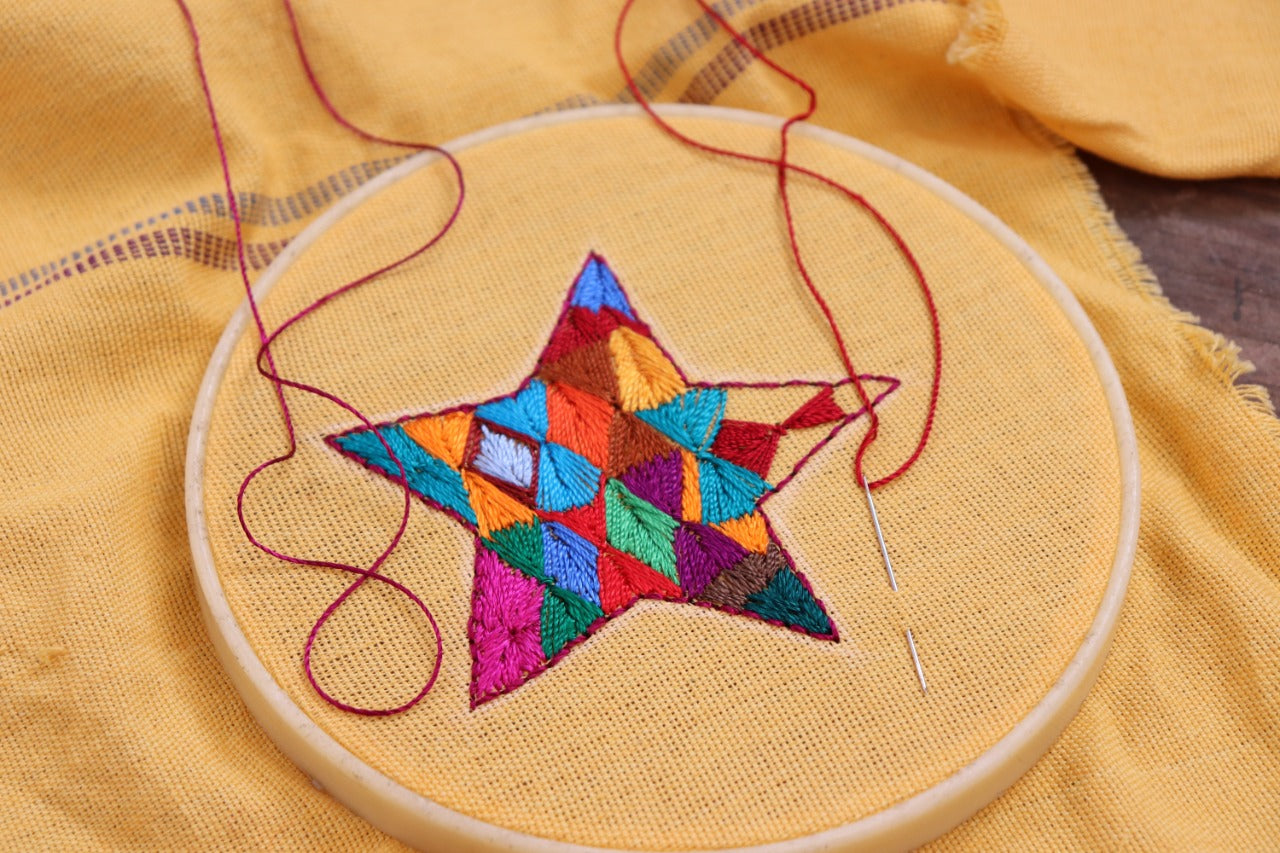 Live Ornament Embroidery Workshop - Dec. 5