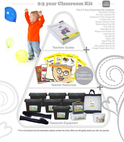 Classroom Kit  - 2 to 3 Years