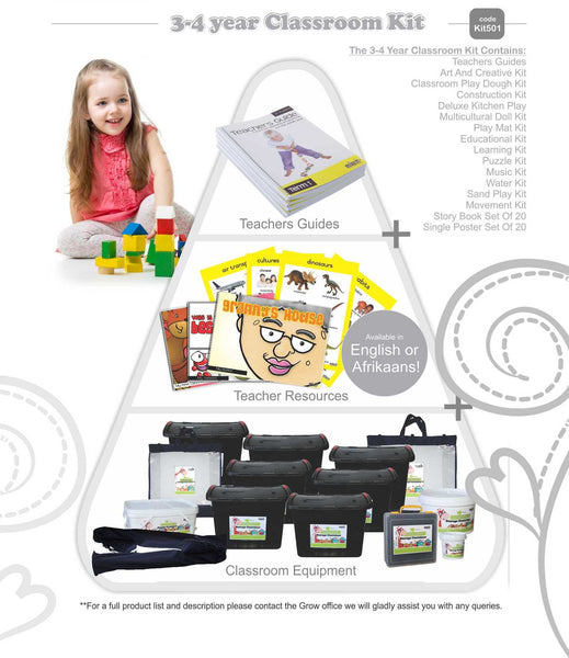 Classroom Kit - 3 to 4 Year