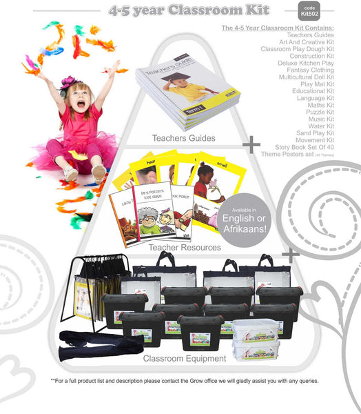 Classroom Kit: 4 to 5 Year