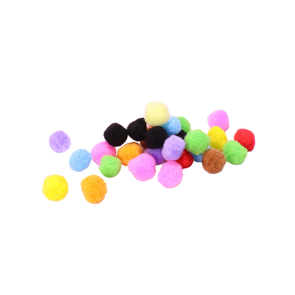 Pom-Poms - Mixed Colours - Large