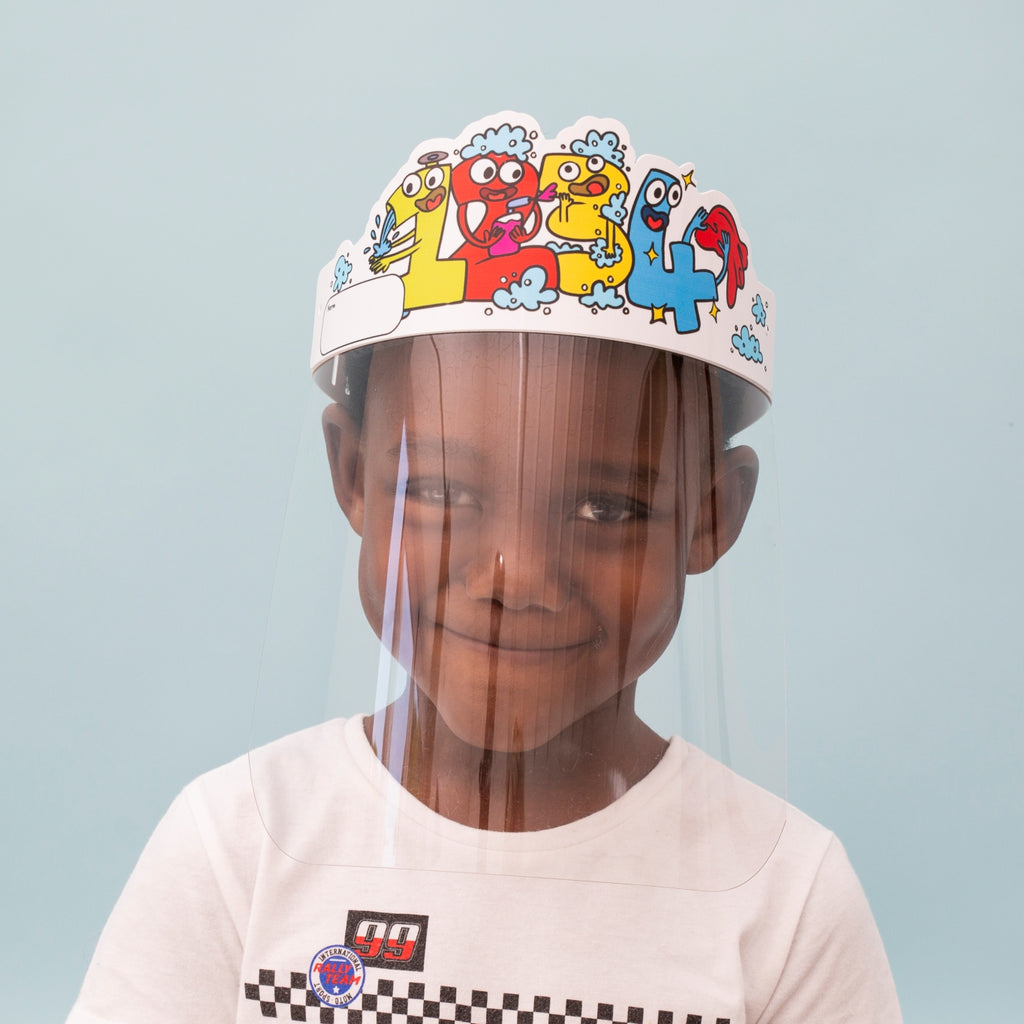 Face Shield: Children Design 6
