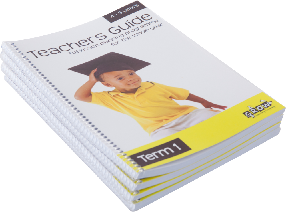 Teachers Guide:  4 - 5 years  (Term 1 - 4)