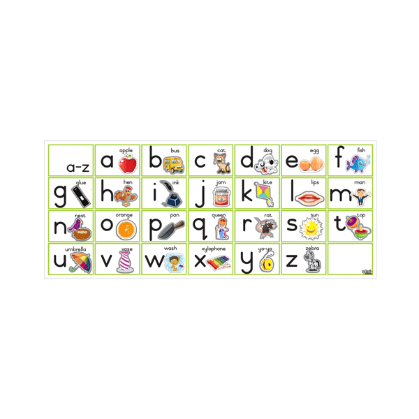 Alphabet Chart - Illustrations