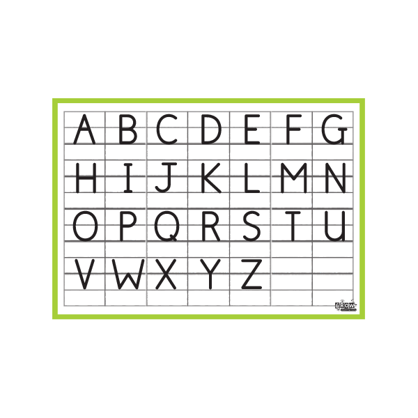 Alphabet Upper Case - A3
