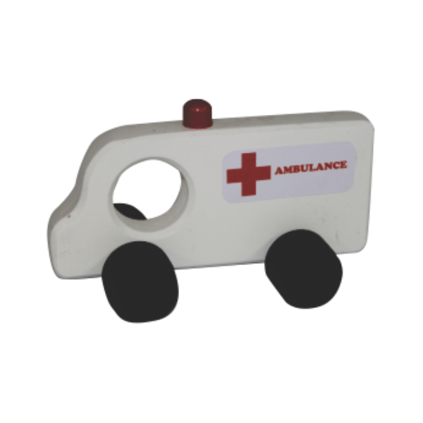 Ambulance - Small Wooden