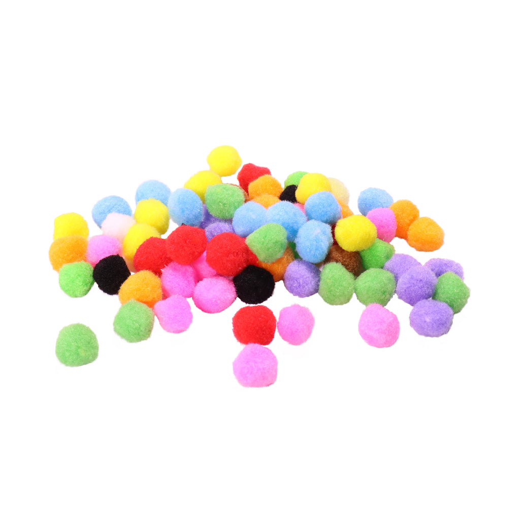 Pom-Poms - Mixed Colours