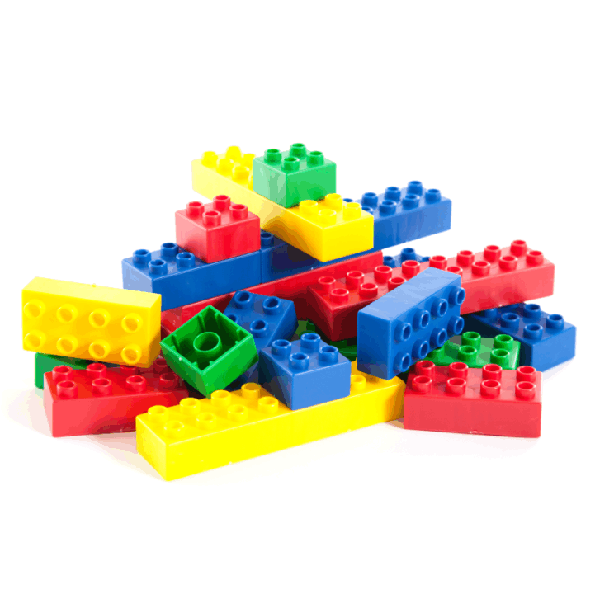 Basic Blocks - Jumbo 2.65kg in Container