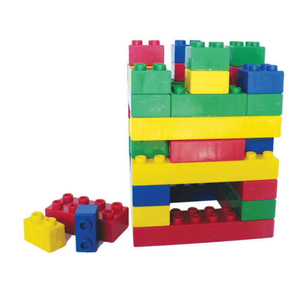 Basic Blocks - Jumbo 1.4 kg in Refill Bag