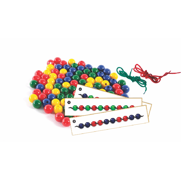 Beads, Laces and Activity Cards