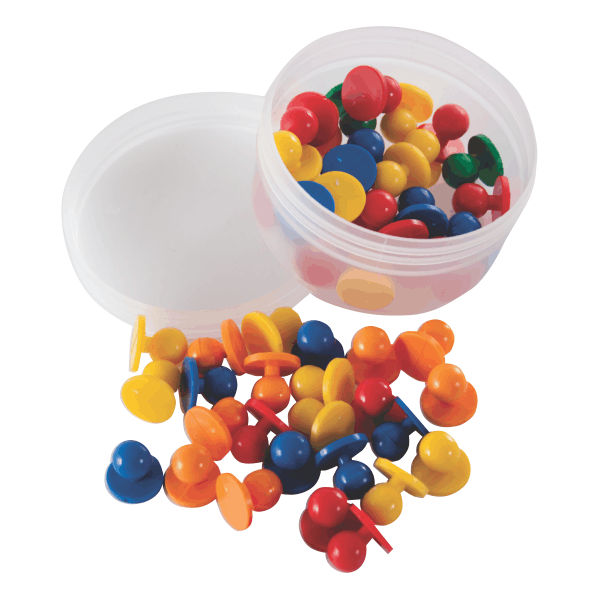 Counters - Button Counters - 300 Piece