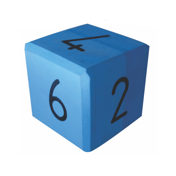 Foam Dice - Numbers (Large)