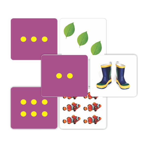 Matching 2 PC - Counting Pictures & Dots