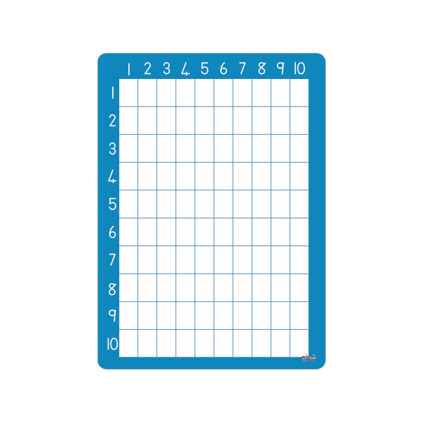 Multiplication Table - Writable - A3