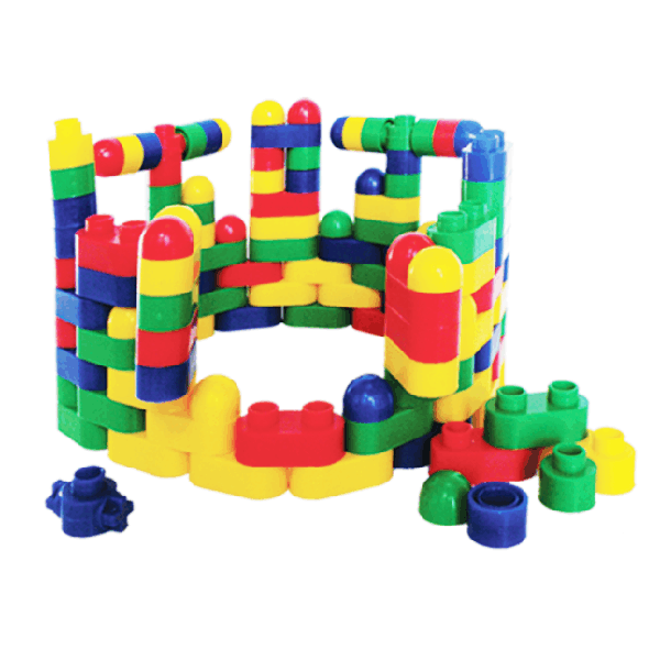 Oval Blocks in Container