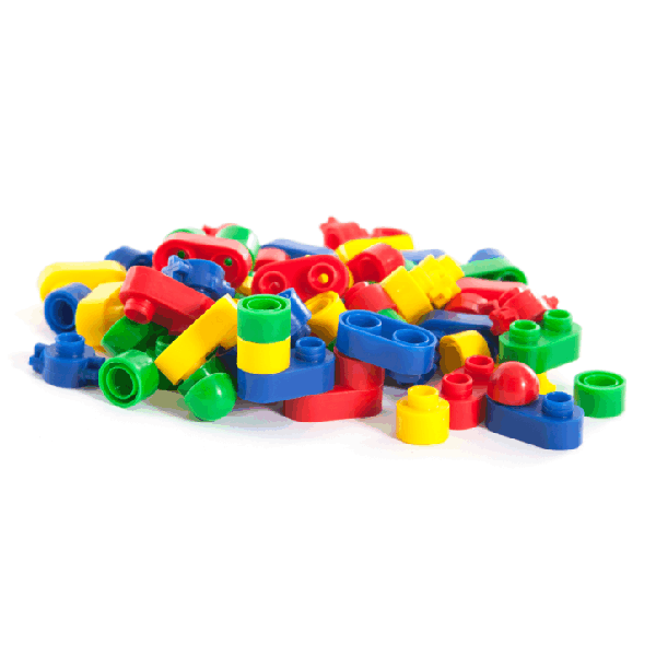 Oval Blocks in Small Container