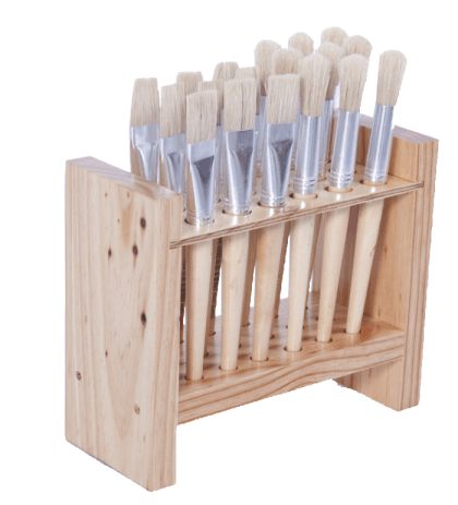Paint Brush Stand - 18 Holes