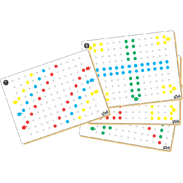 Pegboard Cards