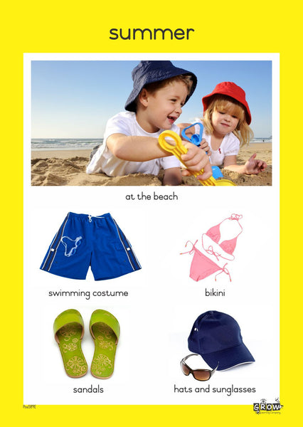 Theme - Summer (Set of 5)