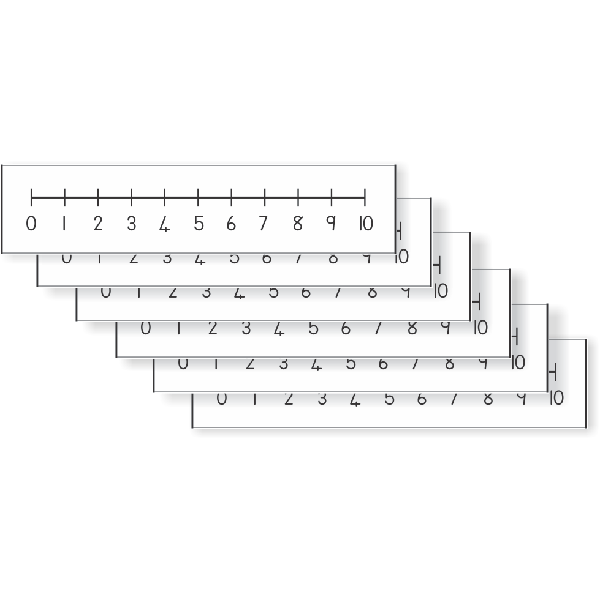 Number Line 0-10 (Pupil)