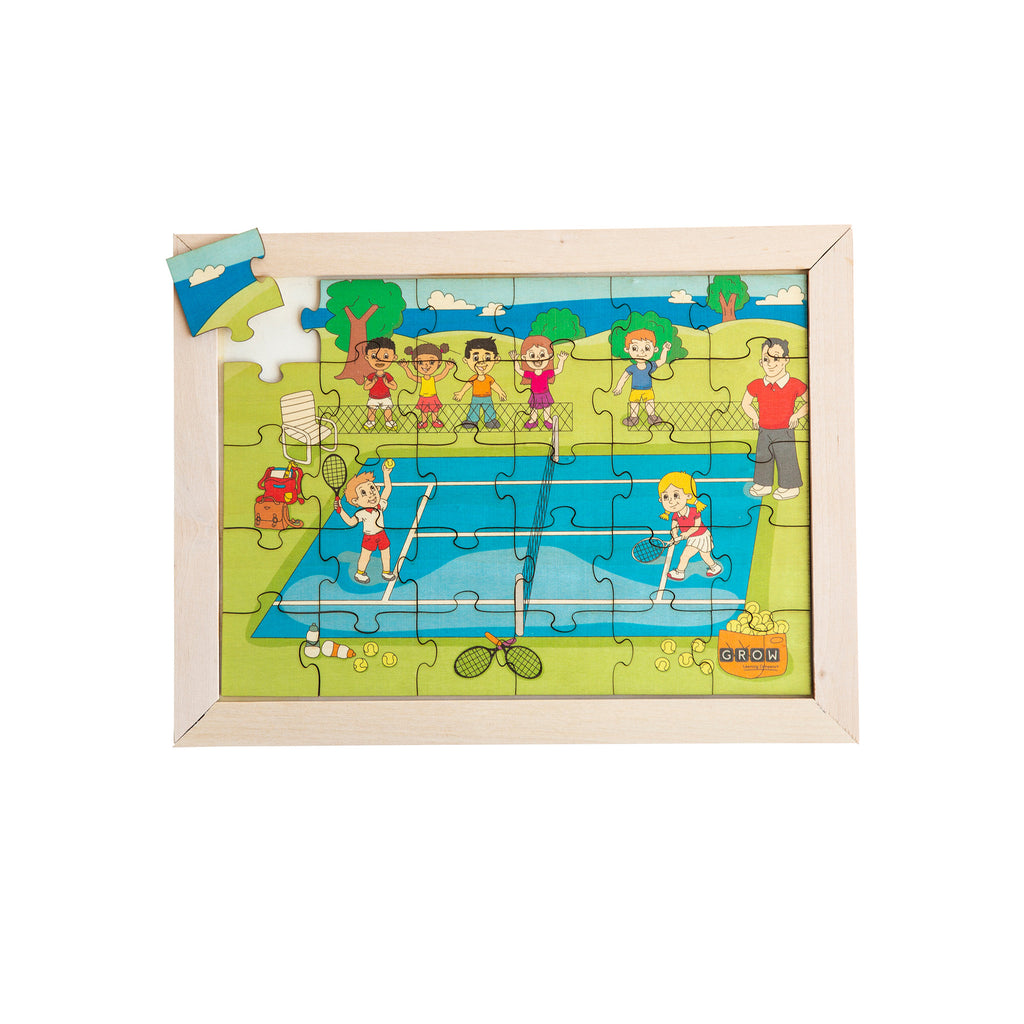 Tennis Tournament 36 Piece Puzzle (box)