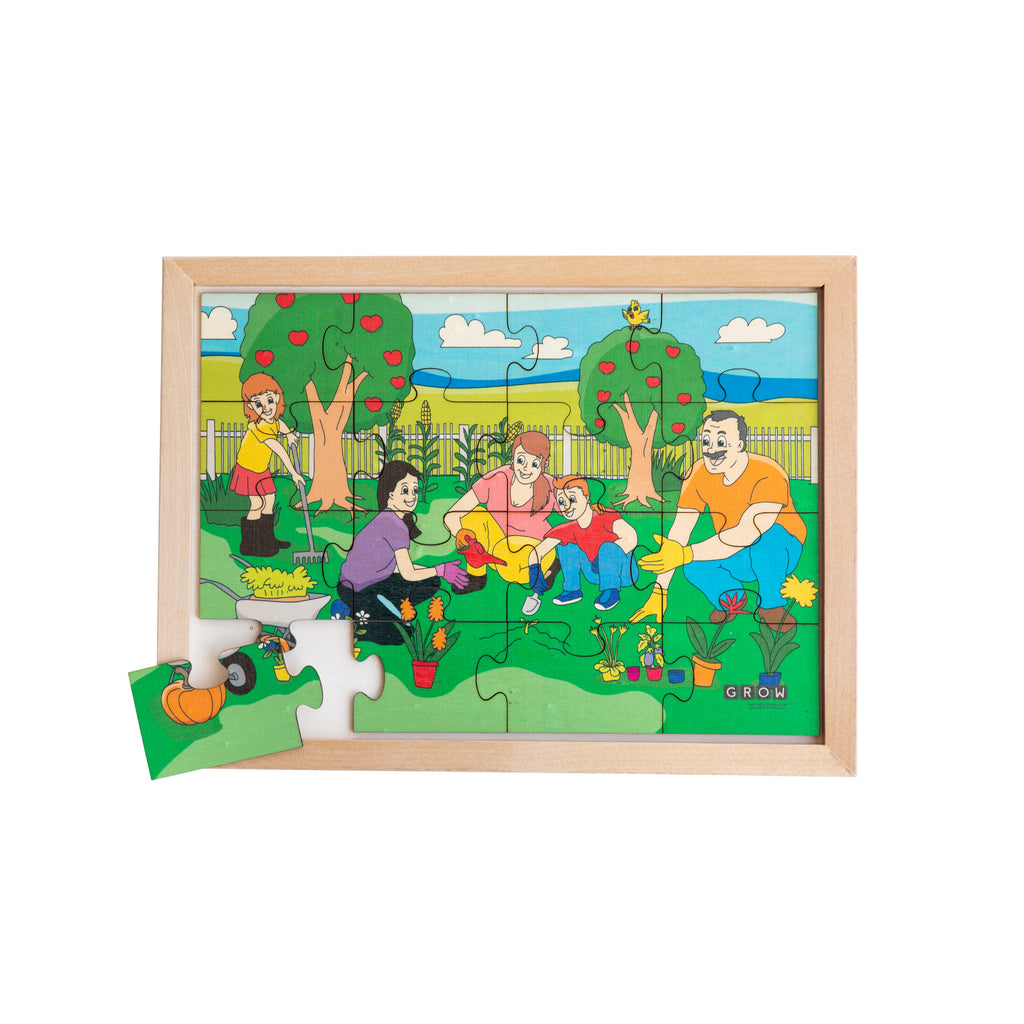 Our Family Garden 16 Piece Puzzle (box)