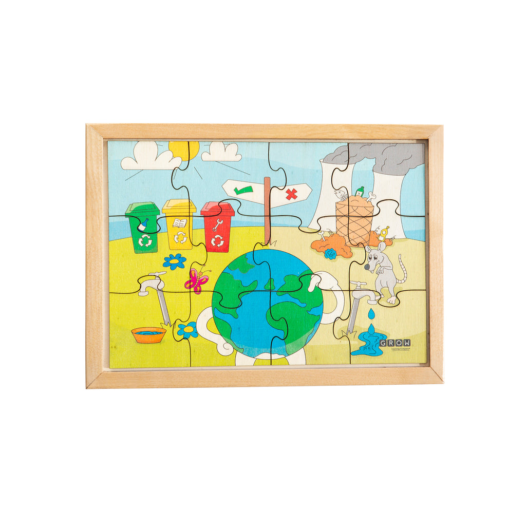 Reduce, Reuse, Recycle 12 Piece Puzzle (box)