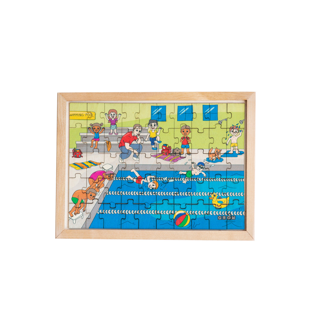 Swimming Gala 50 Piece Puzzle (box)