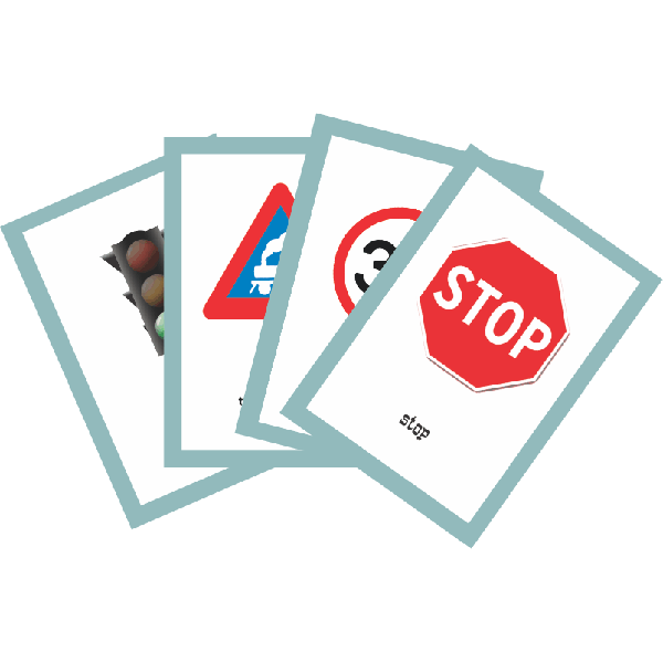 Road Signs - Flash Cards