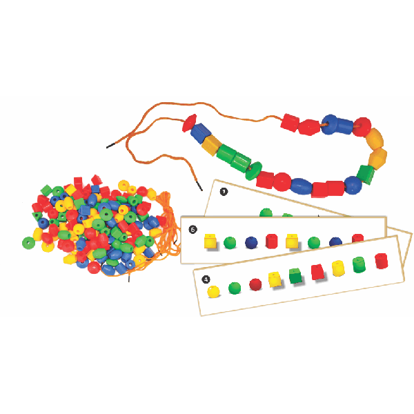 Shaped Beads, Laces & Activity Cards - Small