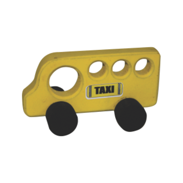 Taxi - Small Wooden