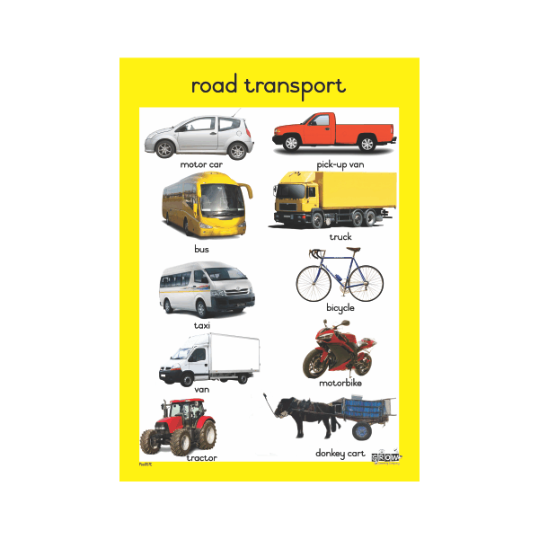 Theme - Road Transport - A3 Single Chart