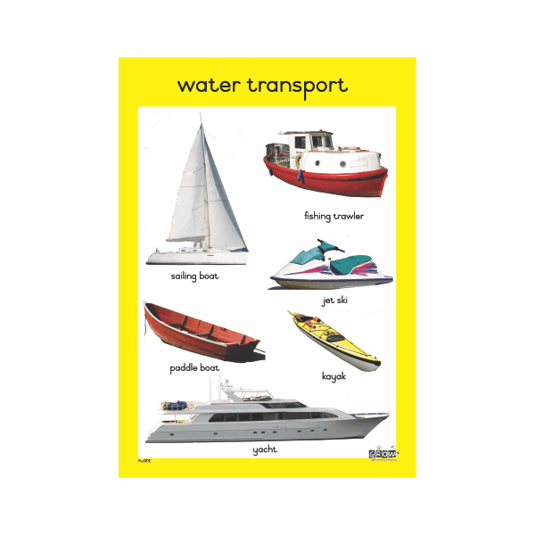 Theme - Water Transport - A2 Single Chart