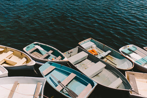 Dinghies at the Dock