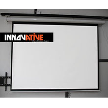 "Load image into Gallery viewer, 84"" & 100"" Motorized Electric Screen"
